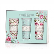 Baylis & Harding Royale Garden Rose, Poppy & Vanilla Luxury Hand Cream Gift Set