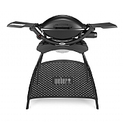 Weber Q2000 Gas BBQ with Stand - Black