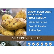 Sharpes Express First Early Seed Potatoes (Bag of 15)