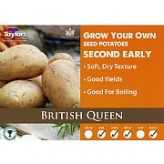 British Queen Second Early Seed Potatoes (Bag of 15)