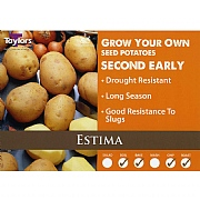 Estima Second Early Seed Potatoes (Bag of 15)