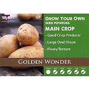Golden Wonder Main Crop Seed Potatoes (Bag of 15)