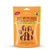 Pet Munchies Natural Chicken with Carrot Sticks 80g