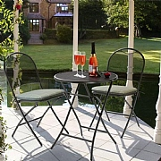 Kettler Café Napoli Bistro Set with Cushions