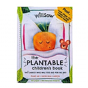 The Carrot Who Was Too Big For His Bed - Plantable Childrens Book