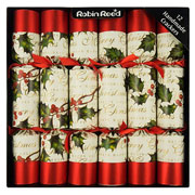 "Robin Reed Bows & Berries 12"" Crackers Pack of 12"