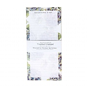 Toasted Crumpet Hydrangea Pure Shopping List Pad
