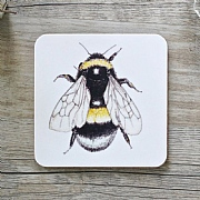Toasted Crumpet Bumblebee Single Coaster