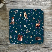 Toasted Crumpet Woodland Single Coaster