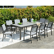 Lifestyle Garden Solana 8 Seater Large Rectangular Dining Set