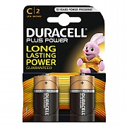 Duracell C Plus Power Batteries (Pack of 2)