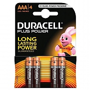 Duracell AAA Plus Power Batteries (Pack of 4)