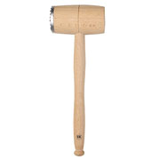 Beech Meat Hammer with Metal End