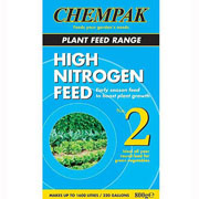 Chempak Formula No 2 - High Nitrogen Feed 800g