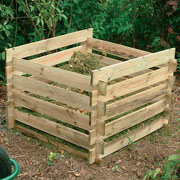 Forest Wooden Composter