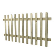 Forest Heavy Duty Pale Fence Panel 0.9m High