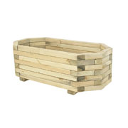 Forest Richmond Wooden Planter - 36 x 100 x 50cm