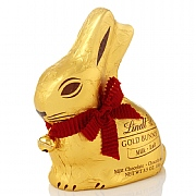 Lindt White Chocolate Gold Bunny (100g)