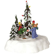 Lemax Merry Christmas Tree - Battery Operated