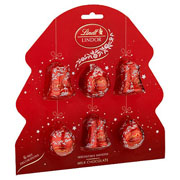 Lindt Lindor Milk Chocolate Tree Decorations