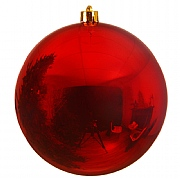 Shiny Red Bauble - 14cm