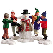 Lemax Ring around the Snowman (Set of 3)