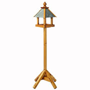 Baby Bedale Wooden Bird Table with Slate Roof 1.6mtr