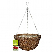 Water Hyacinth Hanging Basket 35cm