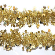 Gold Star Tinsel 90mm x 2m