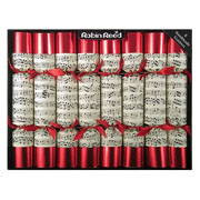 "Robin Reed Concerto 10"" Christmas Crackers Pack of 8"
