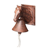 Cast Iron Doorbell - Horse's Head
