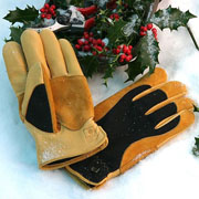 Gold Leaf Ladies Winter Touch Gloves