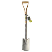 Burgon & Ball RHS Stainless Steel Steel Border Spade