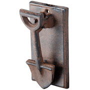 Cast Iron Doorknocker - Spade Design