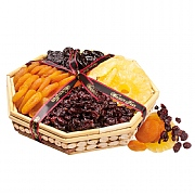 Walnut Tree Octagonal Fruit Tray 350g