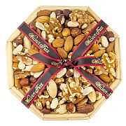 Walnut Tree Octagonal Nut Tray 300g