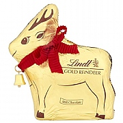 Lindt Milk Chocolate Gold Reindeer 100g