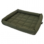 40 Winks Water Resistant Dog Crate Mattess Country Green