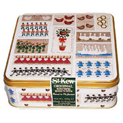 12 Days of Christmas Embossed Biscuit Tin 400g