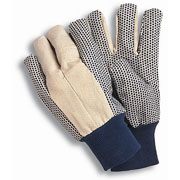 Essentials Canvas Grip Gardening Gloves