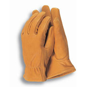 Premium Leather Gardening Gloves - Medium