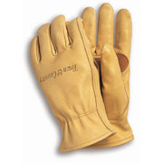 Elite Superior Grade Leather Mens Gardening Gloves - Medium