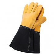 Professional Heavy Duty Ladies Leather Gardening Gloves