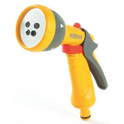 Hozelock Multispray Gun & Waterstop Connector