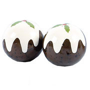 Christmas Pudding Salt & Pepper Set