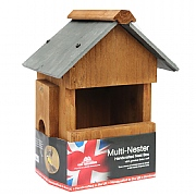 Slate Roof Multi - Nester Bird Box