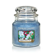 Yankee Candle Garden Sweet Pea Medium Jar Candle