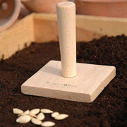Burgon & Ball Square Seed Tray Tamper