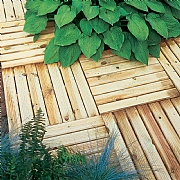 Forest Ridged Deck Tile 50 x 50cm