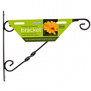 Hanging Basket Bracket 30cm Black